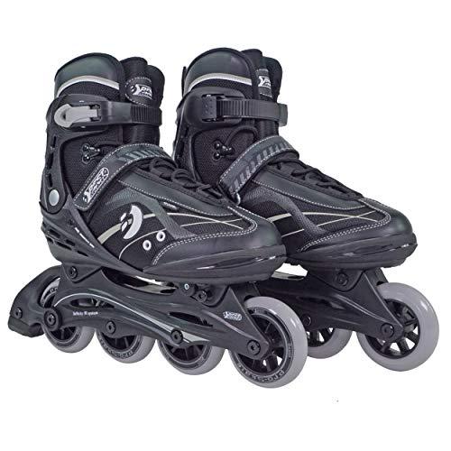 Best Sporting Inline Skates, Zehenbreite verstellbar, ABEC 7 Carbon Kugellager, Inliner für Teenager und Erwachsene (37-38)