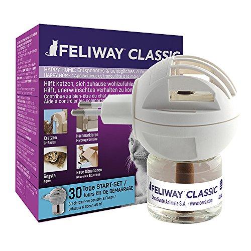 FELIWAY CLASSIC Start-Set, Verdampfer für die Steckdosen & Flakon