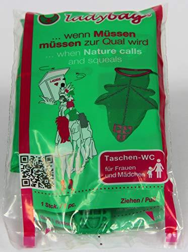 Pfiffig-Wohnen ladybag® - Das Mobile Einweg-WC für Frauen 5er Set