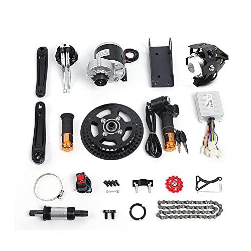 E-Bike Umbausatz E Bike Conversion Mid Drive-Motor Umrüsten 450W 48V Elektrofahrrad Kit DIY Fahrradmotor Kit