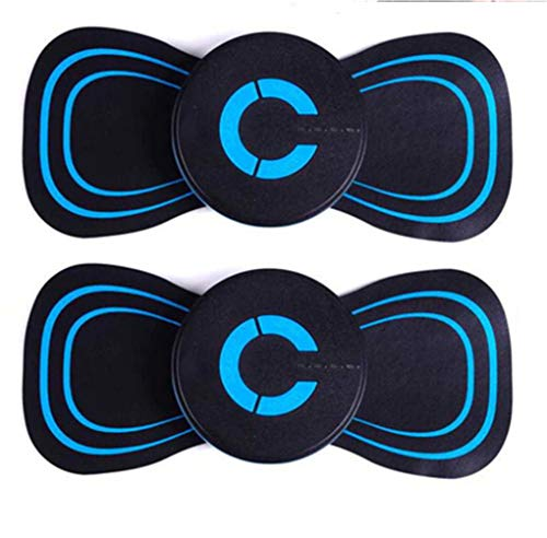 Adhesive Electric Massage Pad Brüste, Reaktivieren Sie EMS Electric Pad Electric Breast Enhancer Massagegerät Brustfrequenz, Reaktivieren Sie Ems Electric Massager Pad (2 STÜCKE)