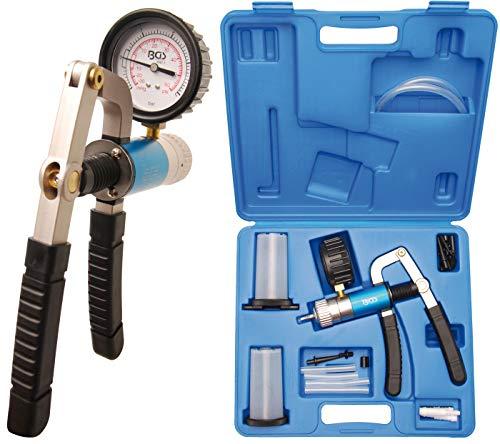 BGS 8067   Vakuumpistolen-Satz mit Saug- und Druckfunktion   Bremsenentlüfter   Bremsentlüftungsgerät   Vakkumtester   im Koffer