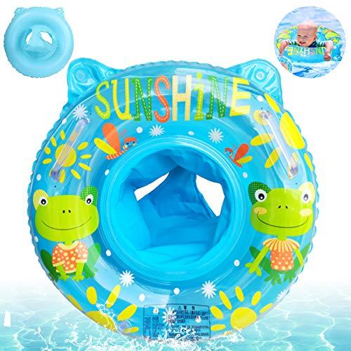 Sunshine smile Baby Schwimmring,Baby schwimmring mit schwimmsitz,babyschwimmen Baby schwimmtrainer,Baby Float schwimmreifen,aufblasbarer schwimmreifen Kleinkind,Baby Pool Schwimmring