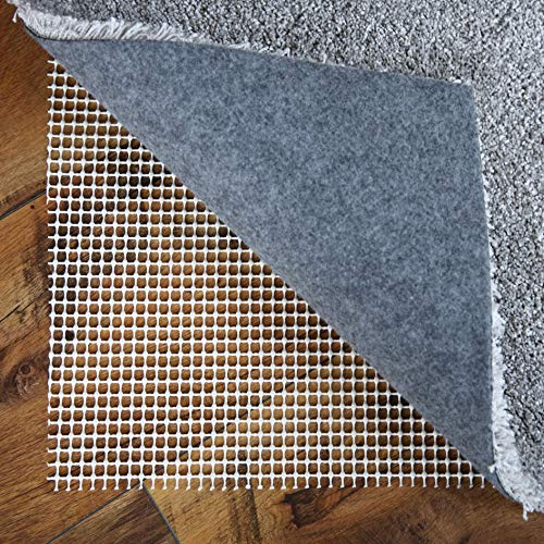 LILENO HOME Anti Rutsch Teppichunterlage aus Vinyl (70x140 cm) - Fußbodenheizung geeignete Teppich Antirutschmatte für Glatte und Harte Böden - Teppichstopper für EIN sicheres Zuhause