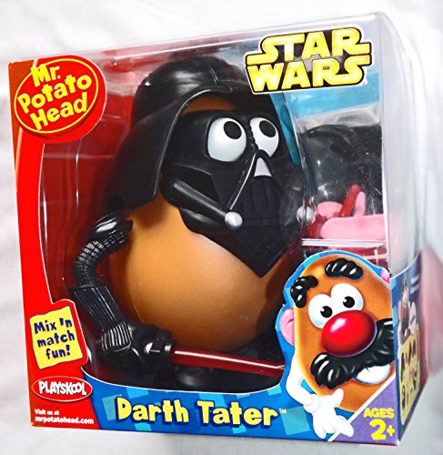 Mr. Potato Head Star Wars Serie – Darth Tater mit Mini-Schlüsselanhänger