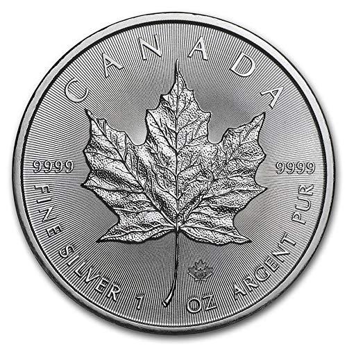 DEUTSCHER MÜNZEXPRESS Maple Leaf Kanada 2020   Silberunze   Anlagemünze