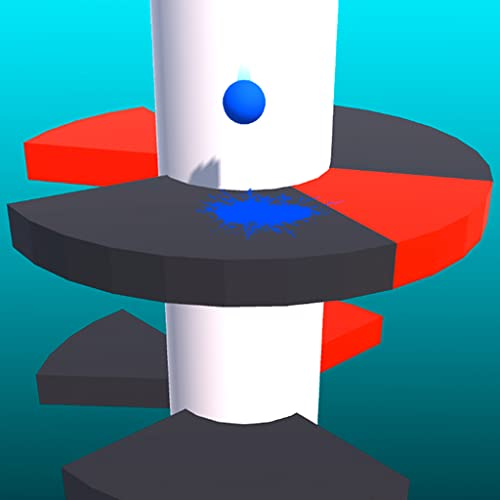 Swirl Down Helix - Jump Spin & Drop Stack Ball Tower Fall